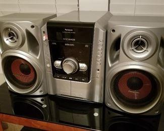 Panasonic CD Player/Radio