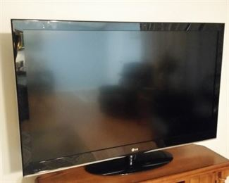 A closer look at the LG LCD 47 inch TV.
