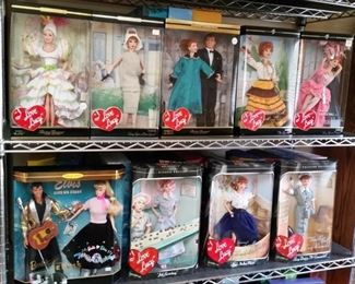 'I Love Lucy' Barbies