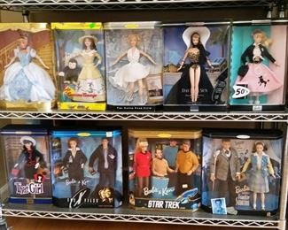 Movies and TV shows Barbie/Ken dolls