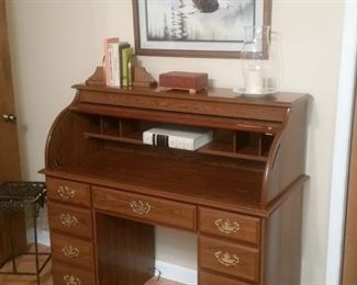 Small roll top desk