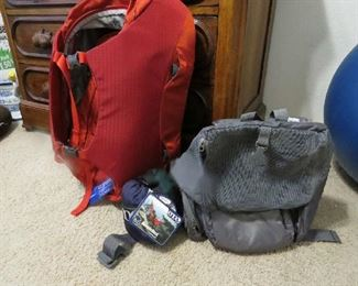 Eno Double Hammock brand new, Osprey Backpack and Pet carrier