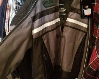 Brand New Harley Davidson Riding Jacket  Bought for $450  for sale at $230.. Christmas Anyone?