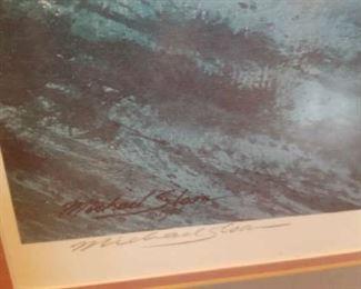 Michael Sloan Framed Print