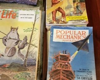 Real older collectible magazines at a very low price