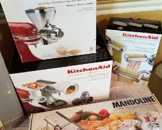 Like new Kitchen Aid attachments  want a great Christmas gift!