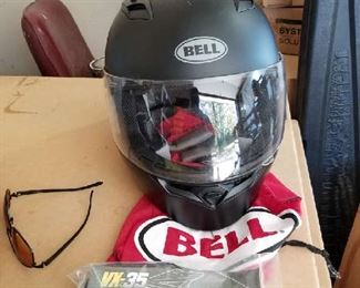 Helmets also like new Asking $75 for this one
