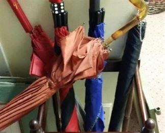 Unique umbrellas.
