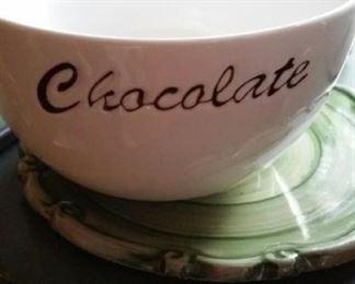 Williams Sonoma chocolate bowl