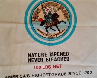 King Arthur flour apron, oversized, brand new