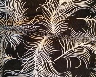 Kate Spade silk scarf, large