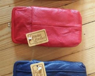 New leather eyeglass/cell phone cases