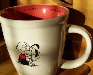 Charlie Brown and Snoopy mug