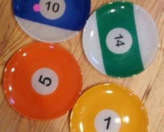 Billiards plates
