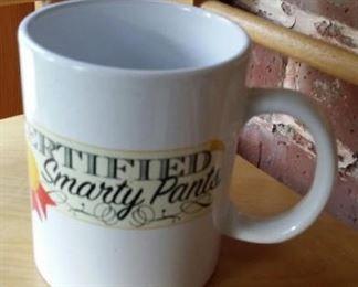 Certified Smarty Pants mug