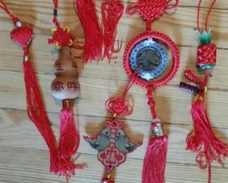 small Chinese woven ornaments