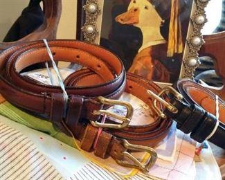 Coach women's belts