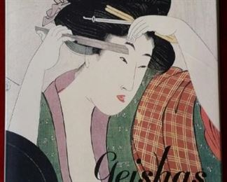 Large geisha note card collection