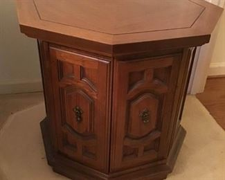 Vintage Octagon Side Table