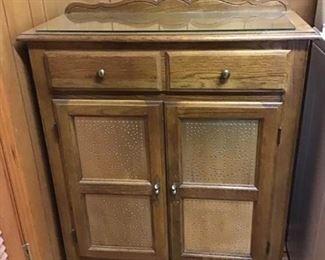 Vintage Oak Cabinet/Buffet