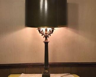 Vintage Brass Lamp (Very Unique)