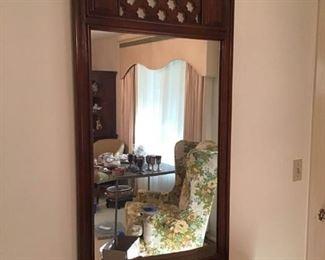 Vintage Entry Mirror