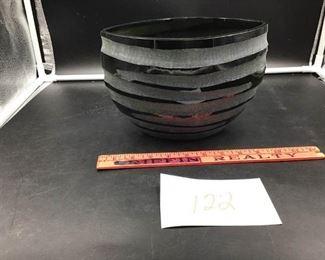 Black Modern Vase