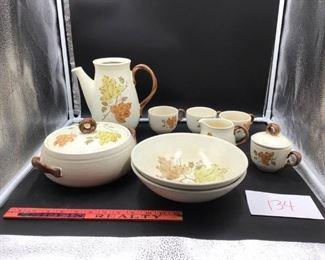 Metlox ceramic dinner pieces
