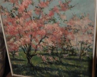 Original painting...Cherry blossoms