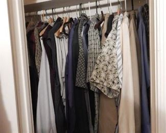 Men's clothing.
