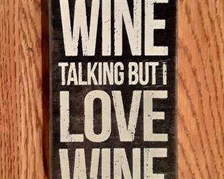 Wine Wall Hanging