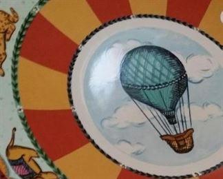 Hot air balloon platter