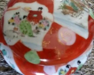 tbs antique asian covered bowl