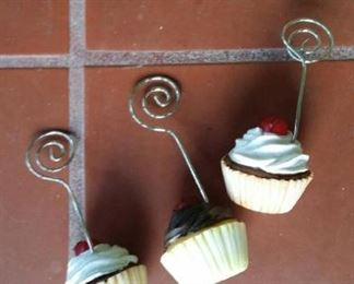 cupcake note rings