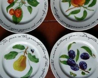 Williams Sonoma Orchard dishes