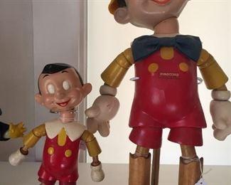 Antique Pinocchios