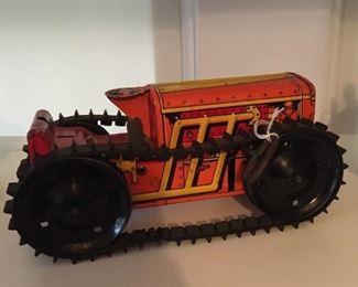 tin tractor