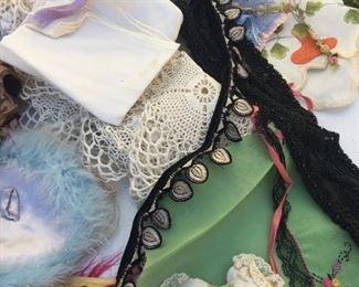 antique trim doilies lace