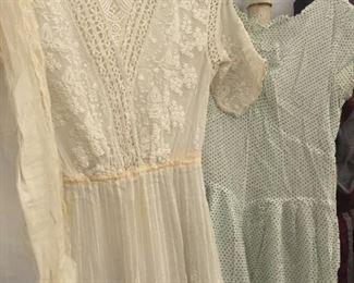 victorian hand made dress