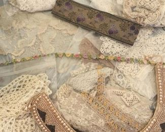 antique hand made lace