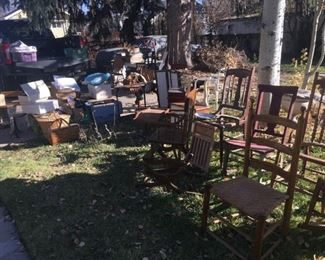 lots of old project furniture
