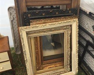 antique wood frames