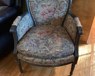 #13Upholstered side chair $35.00