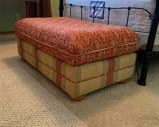 """#19Ottoman as is 42""""x26""""x17"""" $20.00"""