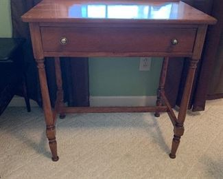 """#20Desk with one drawer as is top 29.5""""x18""""x30"""" $40.00"""
