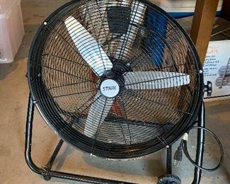 """#37Stark black 24"""" floor fan 150 watts $35.00"""