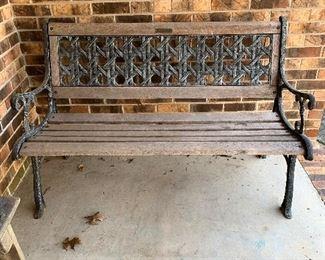 "#39Park bench 49.5"" $25.00"