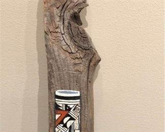 art navajo driftwood painting
