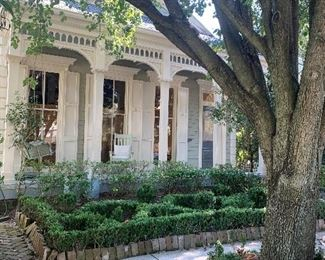 Beautiful uptown cottage as featured in The Times Picayune Home Style Section