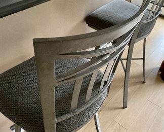 Set/4 bar stools